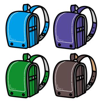 Colorful school bag (for boys)