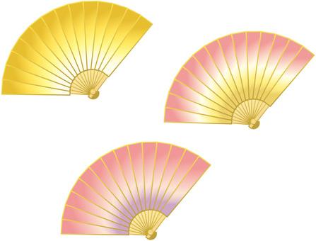 Gradient color fan