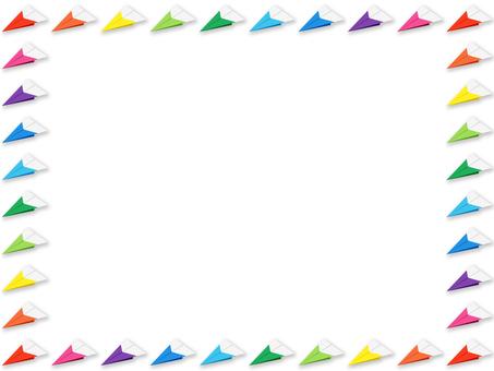 背景 - 紙飛機