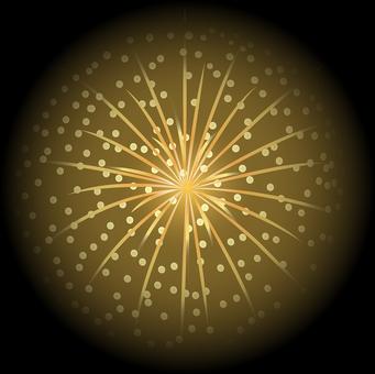 ai 불꽃 놀이 27 종려 별들이
