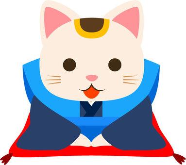 Fukusuke cat
