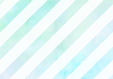 Diagonal stripe turquoise