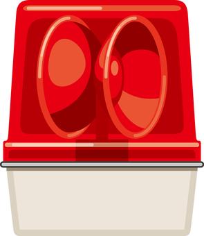Red turning light