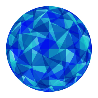 Spherical geometric pattern