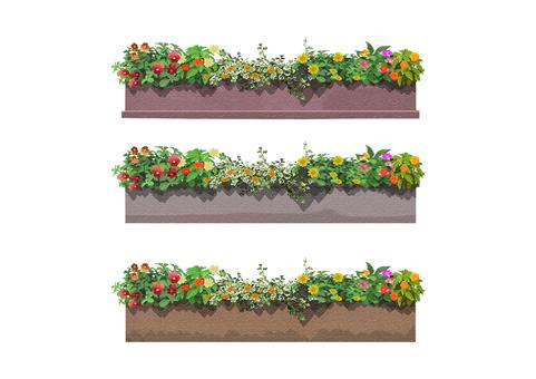 Flower bed 004