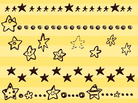 【Handwritten】 Star 【Simple】