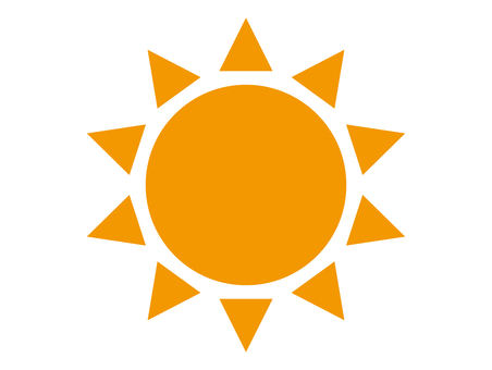 Sun color icon