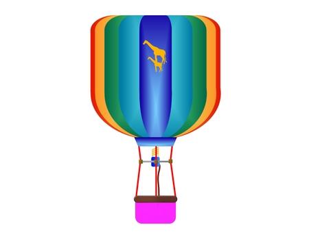 Creating Kirin's balloon