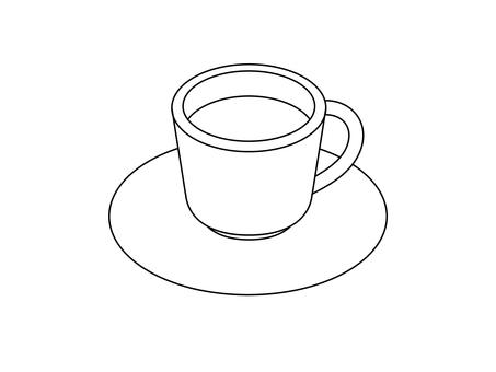 Coffee (line drawing)