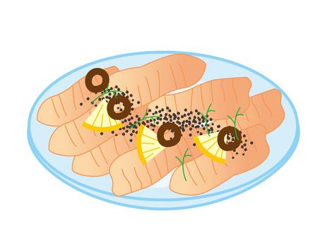 Salmon Carappcio