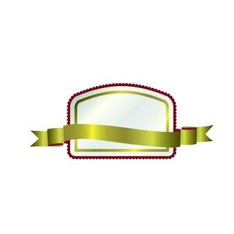 Fashionable ribbon frame