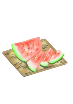 Yes It is a watermelon!