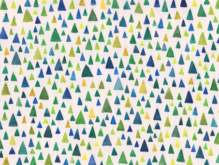 Triangular pattern watercolor texture
