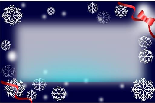 Winter message card