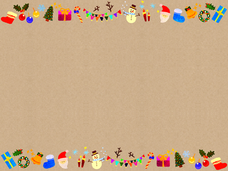 Christmas frame (retro)