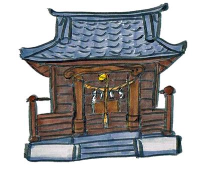 A shrine