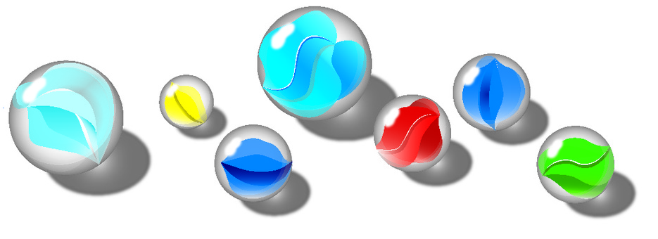 Nostalgic marbles