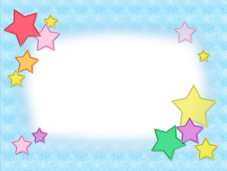 Clear star frame