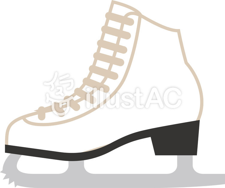 スケート靴イラスト , No 931169/無料イラストなら「イラストAC」