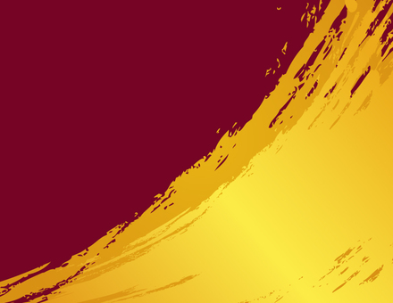 Gold ink background _ Red