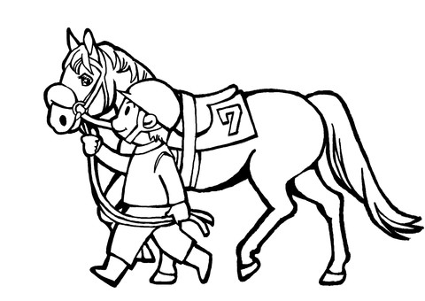 Paddock 1 (line drawing)