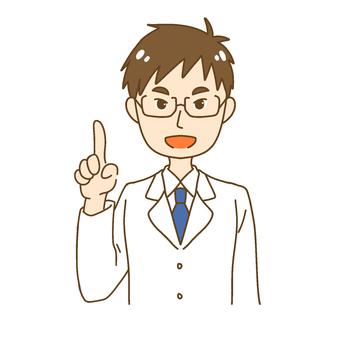 Explaining doctor