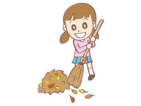 Cleaning of fallen leaves