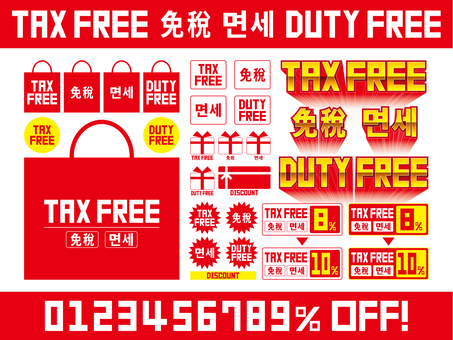 Duty Free 3 languages material