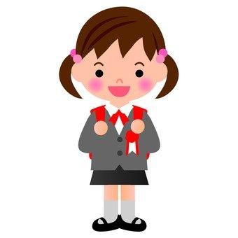Elementary school entrance (girls)