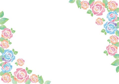 Pastel's rose _ frame