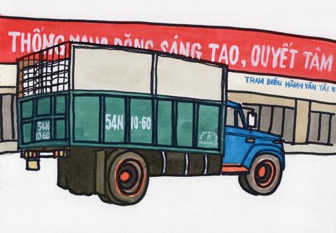 Vietnamese truck