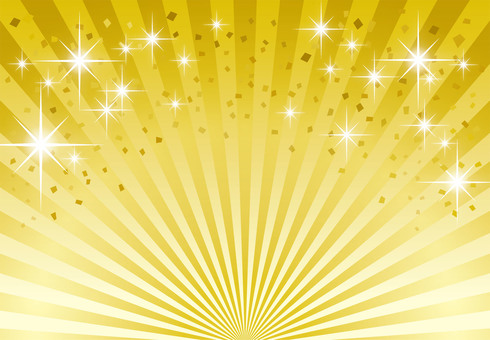 Happy gold radiation background _ golden