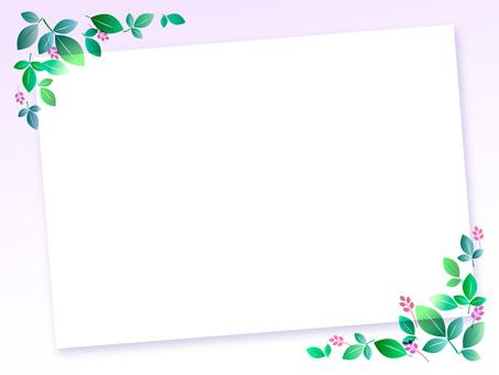 신록과 꽃 보드 1-3