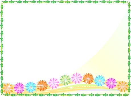 Flower frame 13