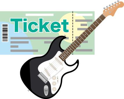 Ticket Live Guitar