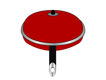 Frying pan (with lid)
