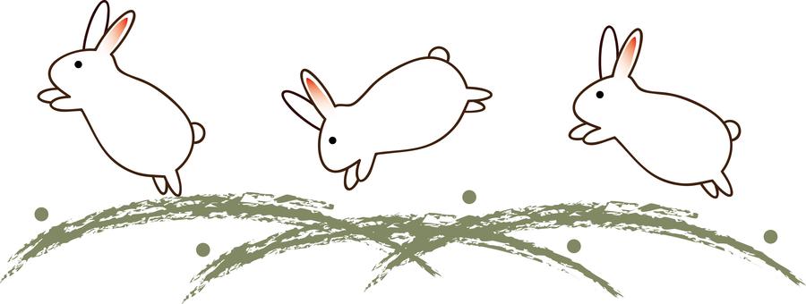 Moon 15 (Bouncing Rabbit 01)
