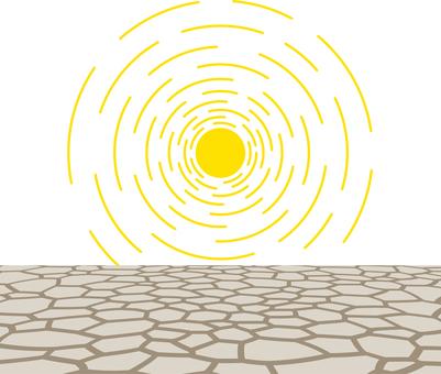 자연 재해 가뭄 가뭄 가뭄 이상 건조