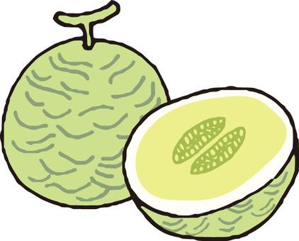Fruit (melon · section)