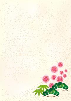 New Year's Pattern Shochiku Mei 12