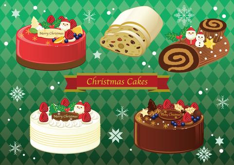 Christmas cake set