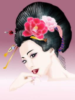 Kimono women 11