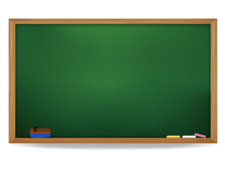 School's blackboard