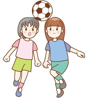 Soccer Girl Line A