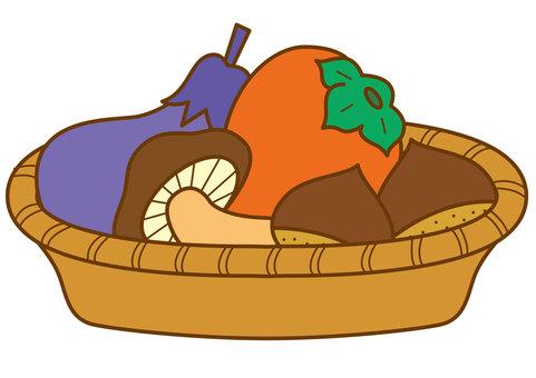 Autumn fruit vegetables 4c