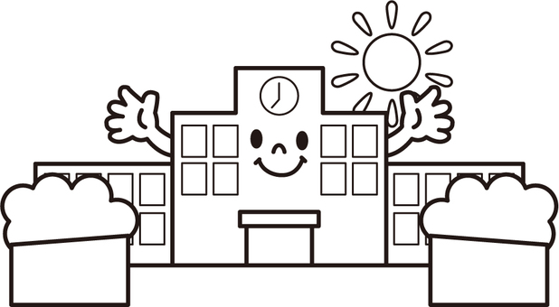 School monochrome