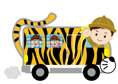 Safari巴士(與人)