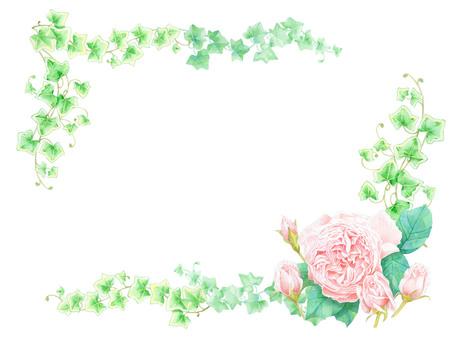 Rose frame ★ 0336-R