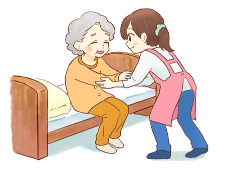 Image of nursing care