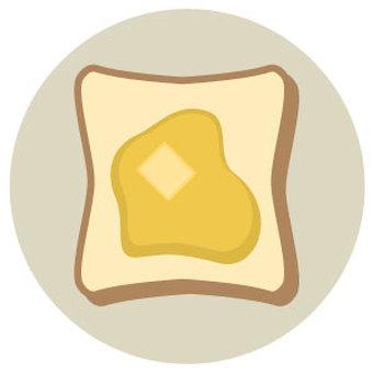 Bread full of butter
